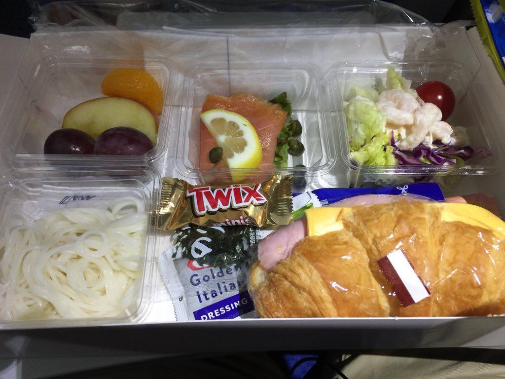 ANA 国際線機内食