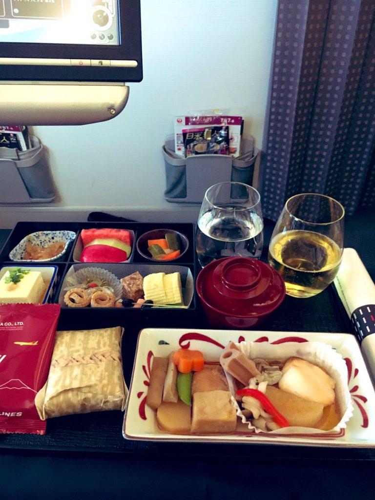 JAL機内食 洋食