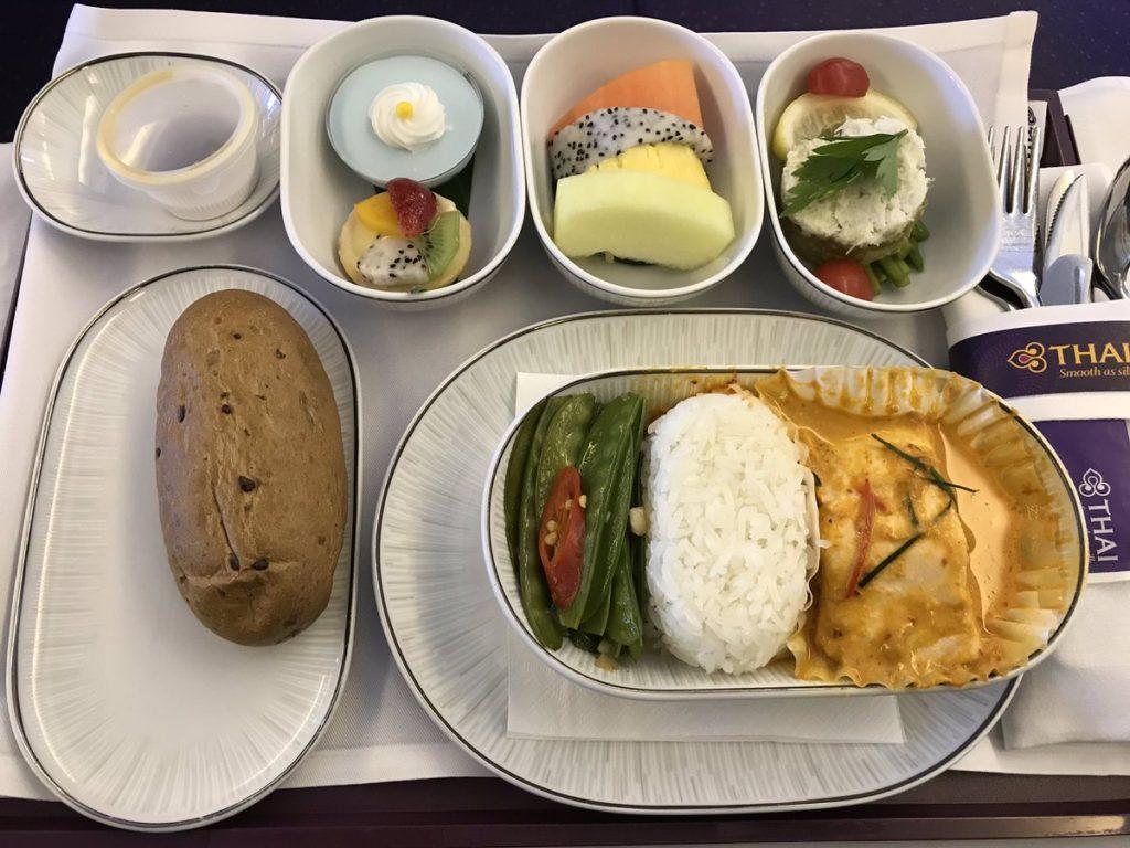 inflight meal thai airways