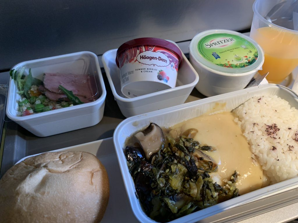 cathay inflight meal