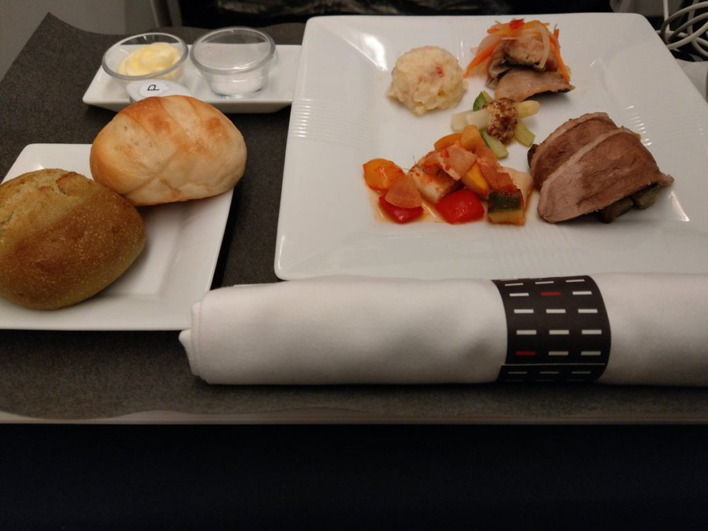 jal inflight meal
