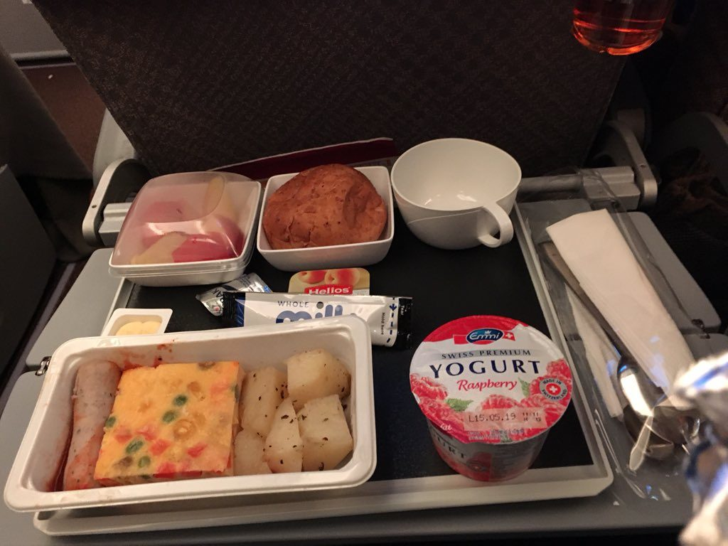inflight meal singapore amsterdam
