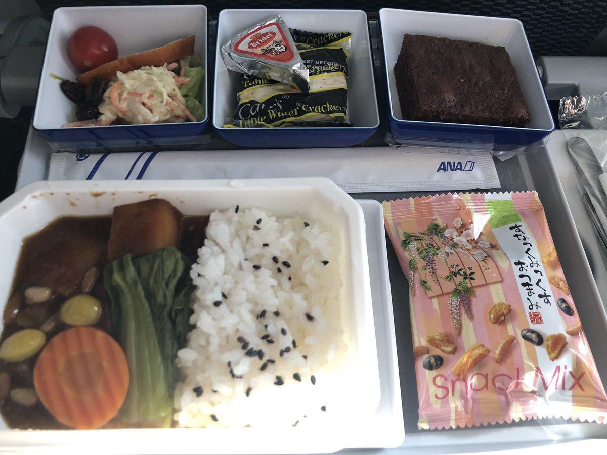 ANA ソウル羽田 機内食